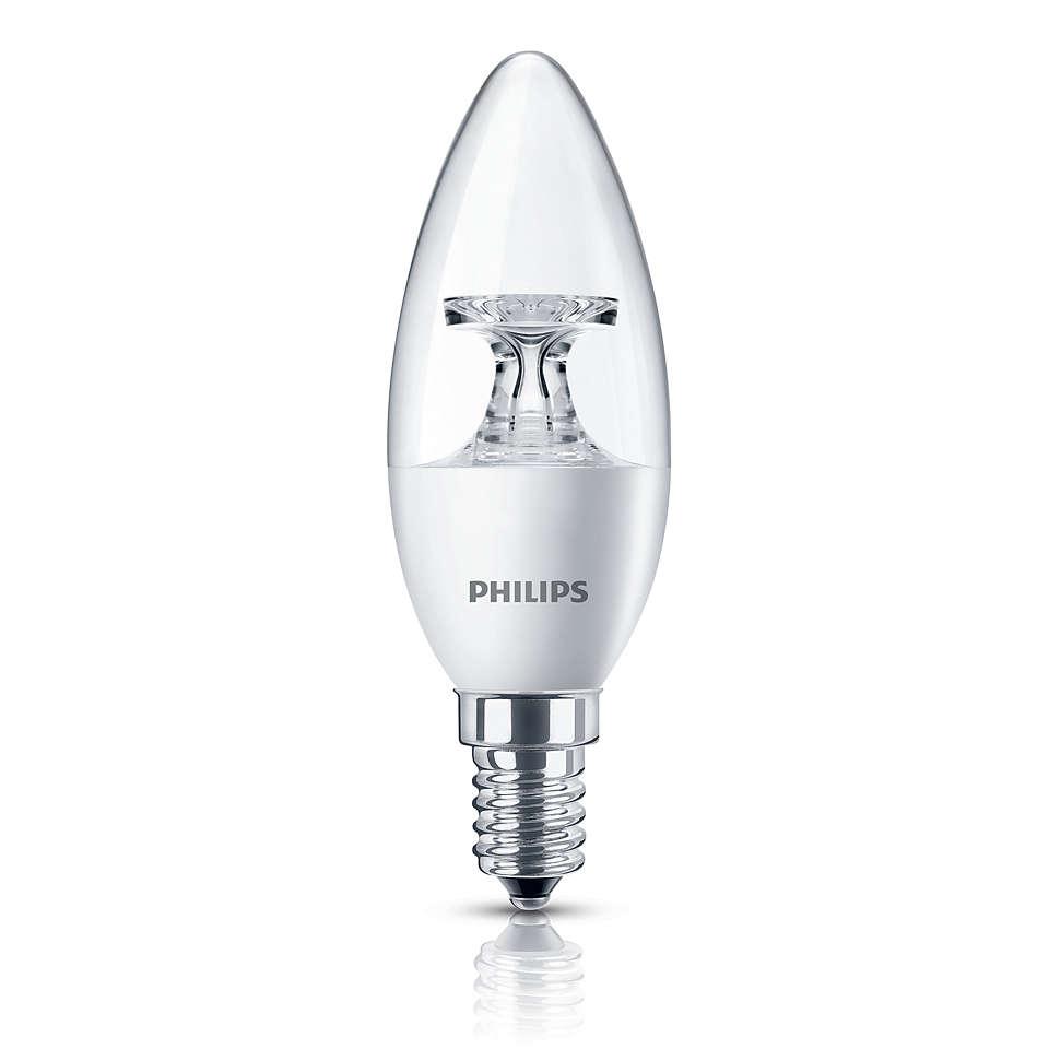 LED Li - LED, свечевидная