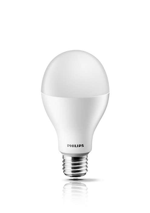 體驗暖白光 LED 燈