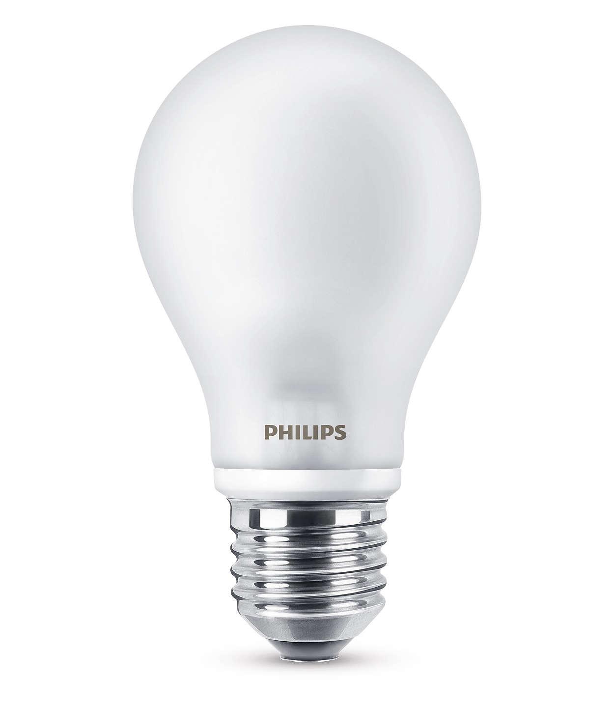LED in klassischer Glühlampenform