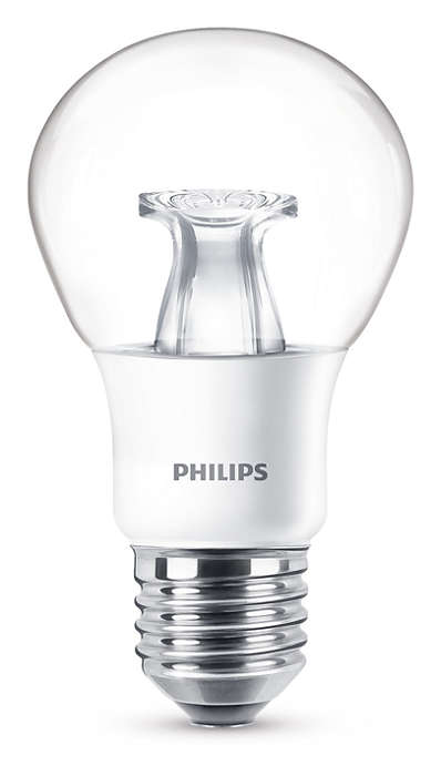 Cambia el ajuste de iluminación sin cambiar la bombilla