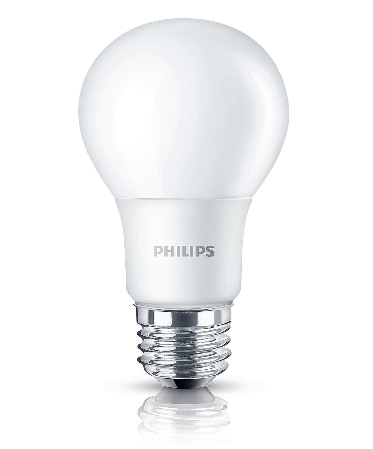 Experience warm white LED light