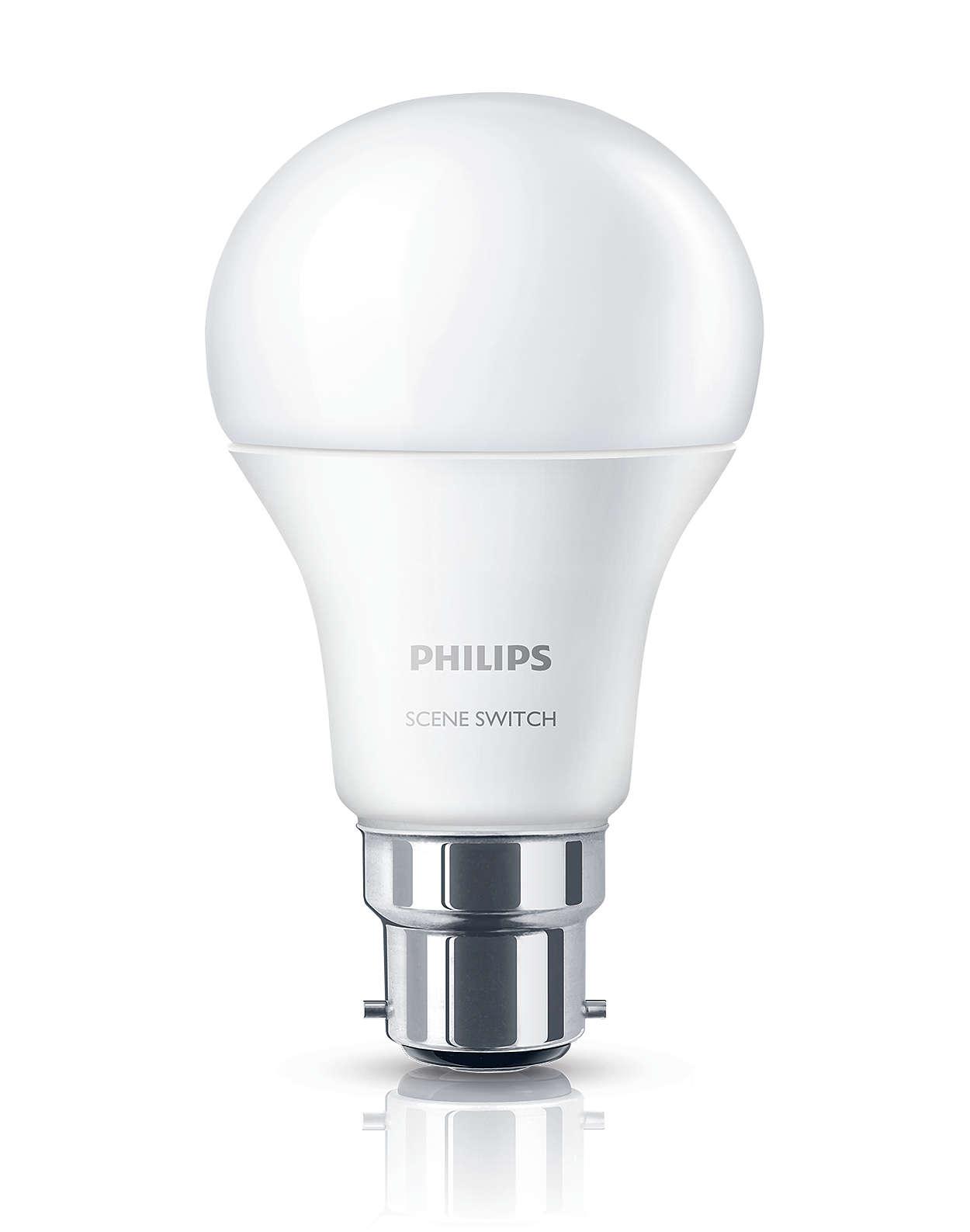 Zmeňte nastavenie svetla bez potreby zmeny žiaroviek