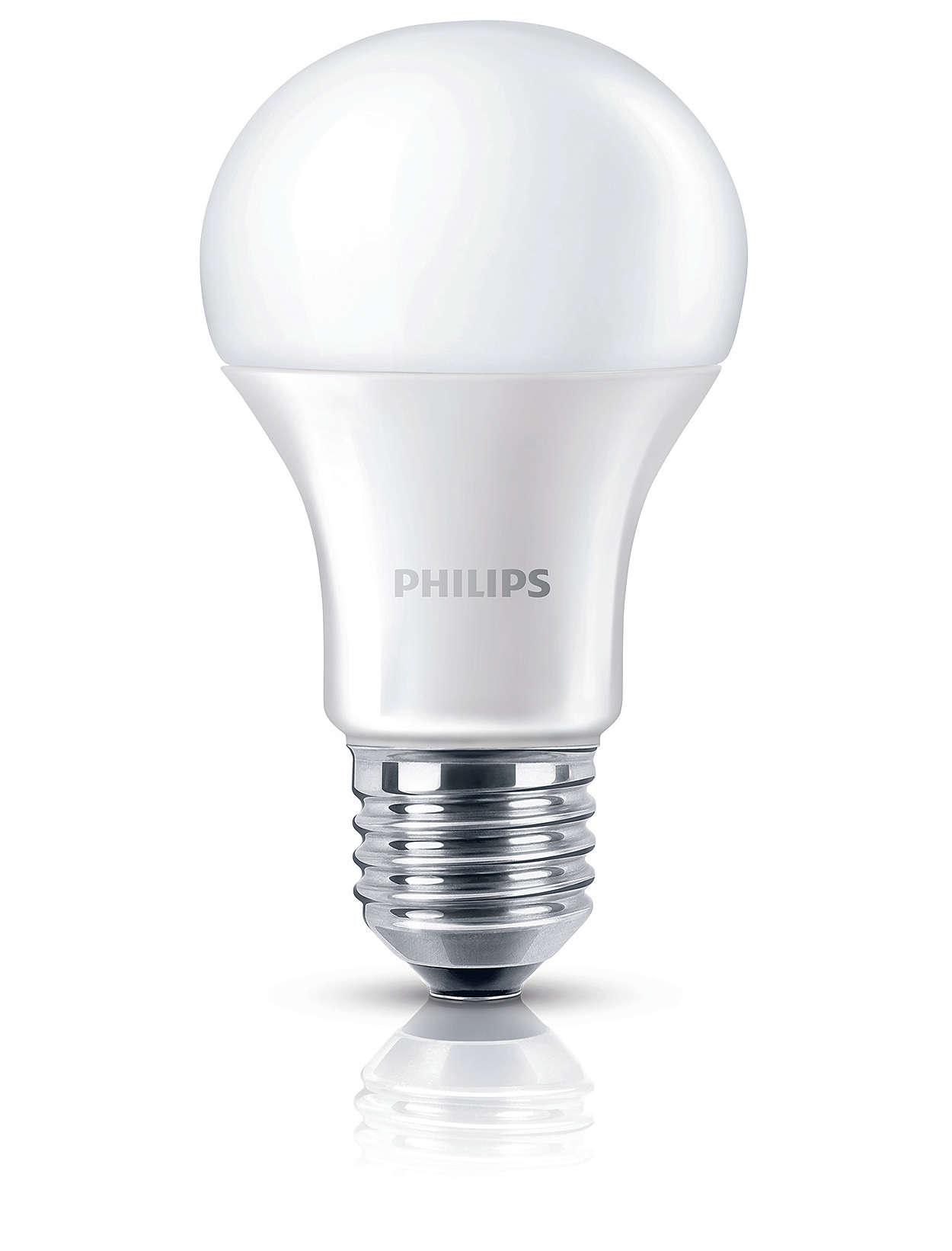 Lämmin valkoinen valo ilman kompromisseja valon laadun suhteen