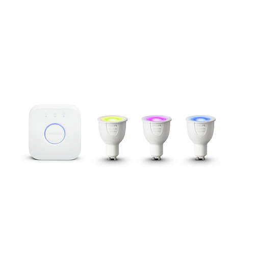 Hue White and color ambiance White and color ambiance Aloituspakkaus GU10