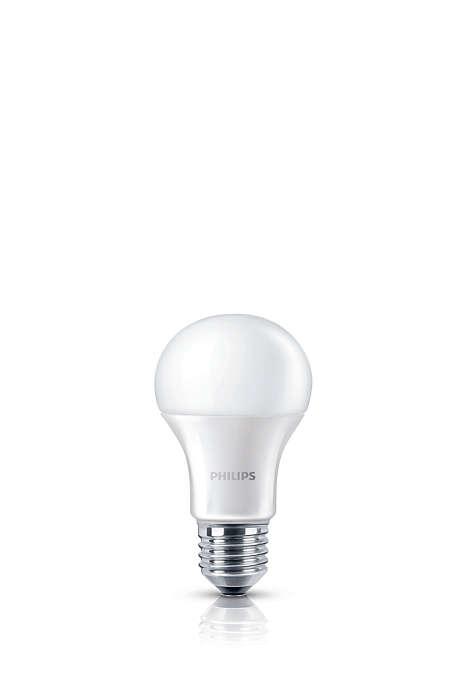 Skarpt hvitt lys, like god lyskvalitet