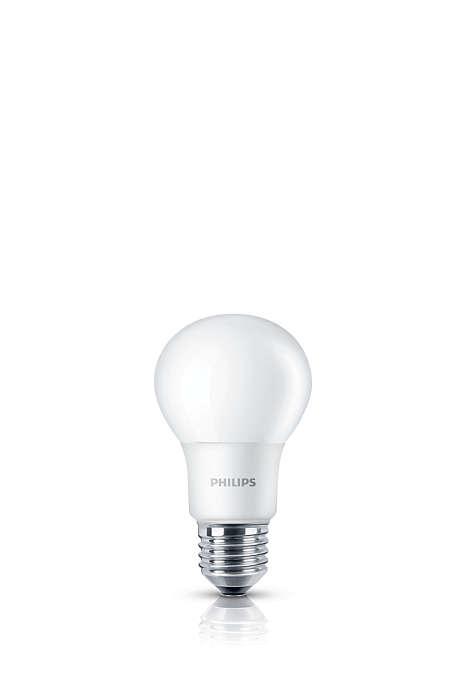 Luz blanca fría, sin sacrificar calidad de luz
