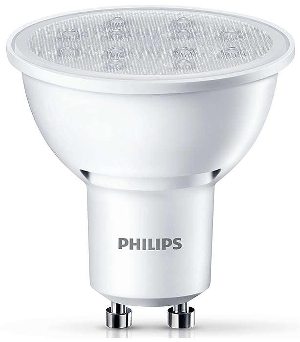 Duurzame accentverlichting met een gerichte, heldere lichtbundel