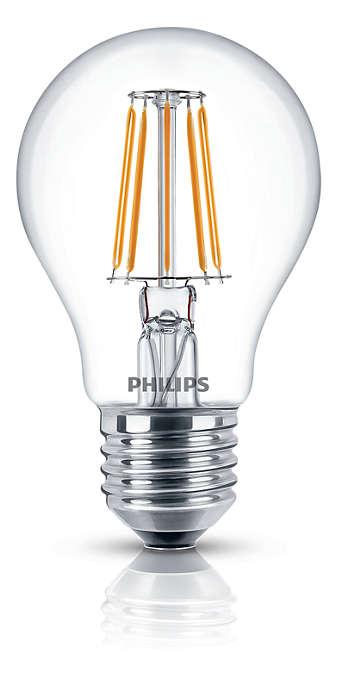 Lâmpadas LED decorativas