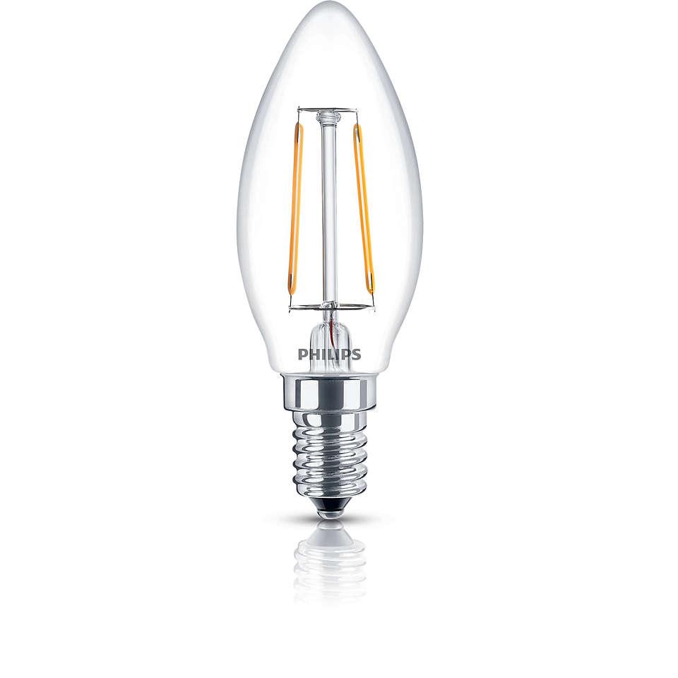 LED свечевидный