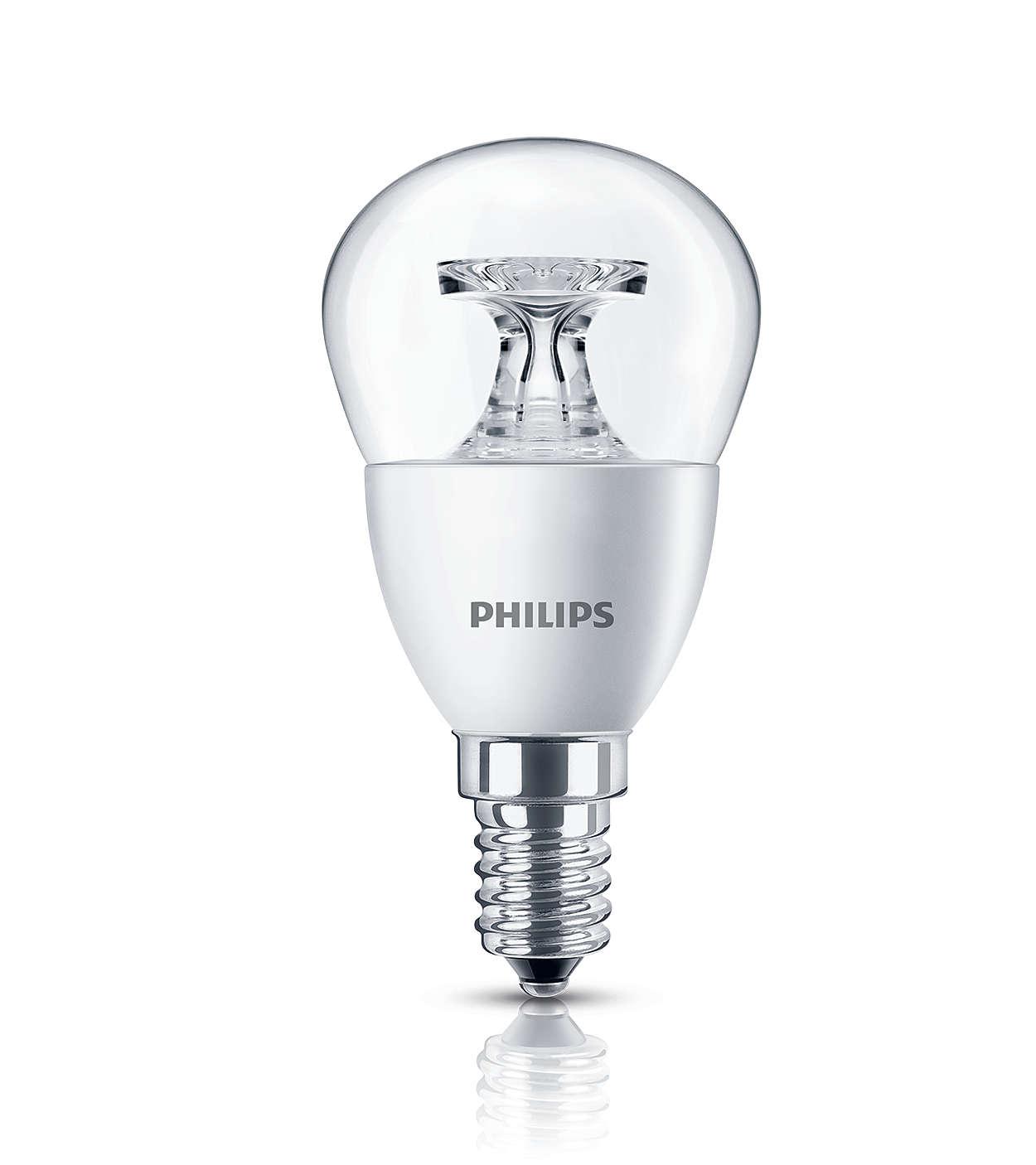 透明 LED 燭光燈為家居增添舒適的氣氛