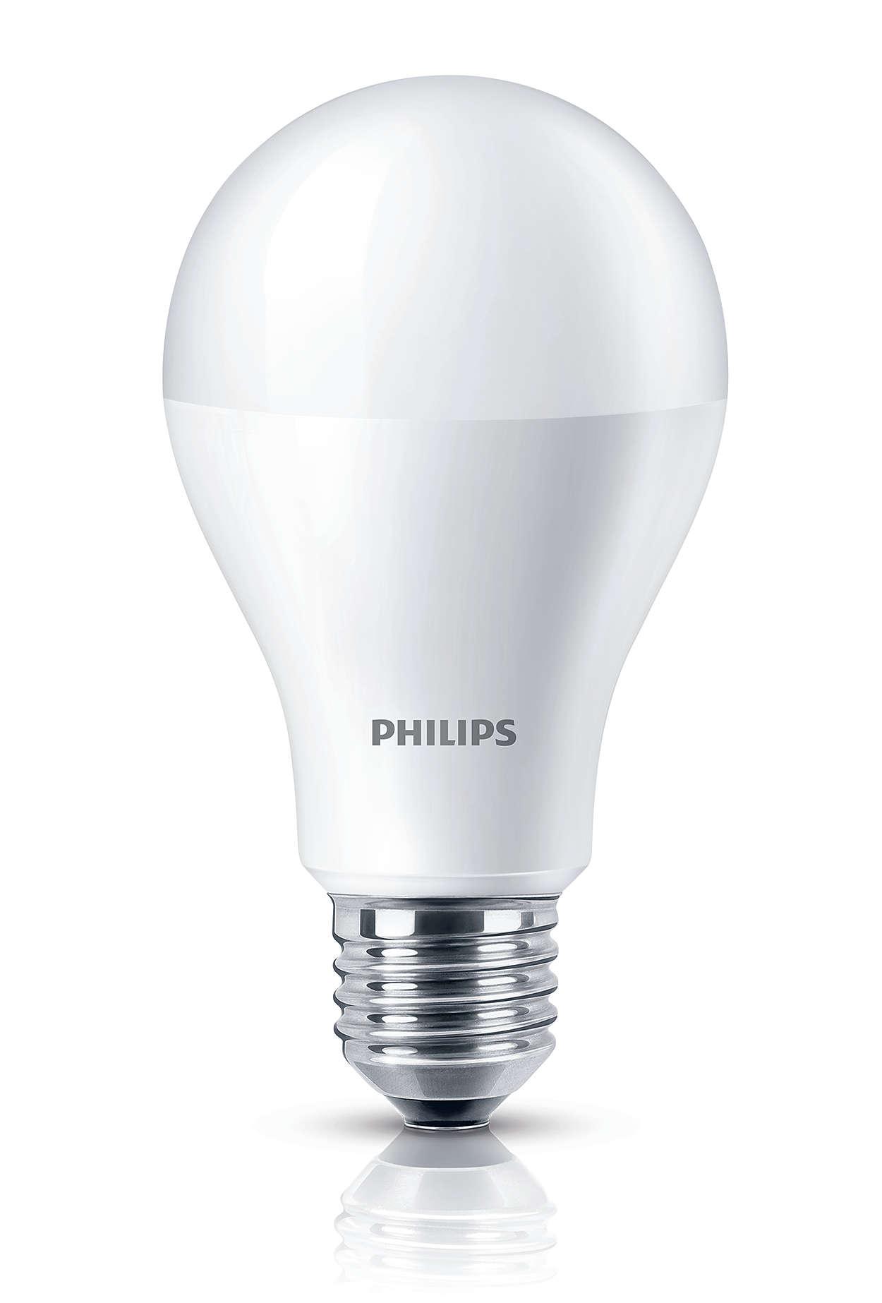 Luz LED branca agradável