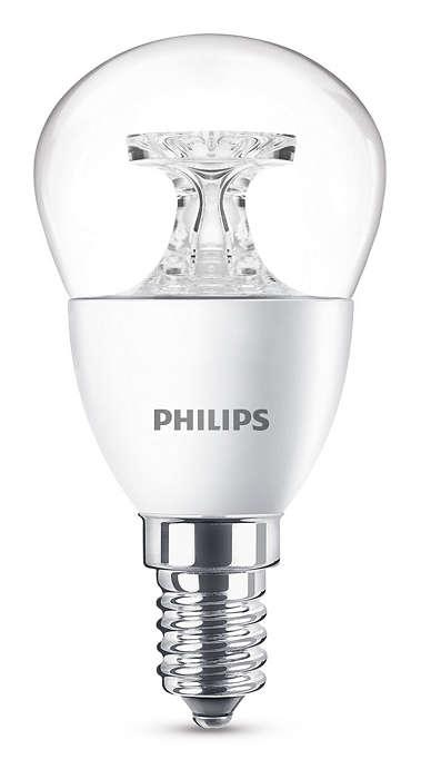 Kraftig LED-belysning med utmerket lyskvalitet