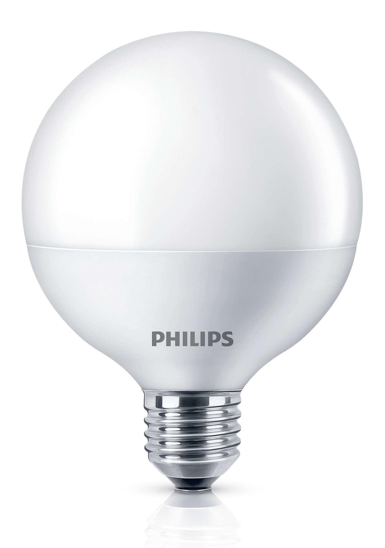 持久耐用的完美 LED 燈泡