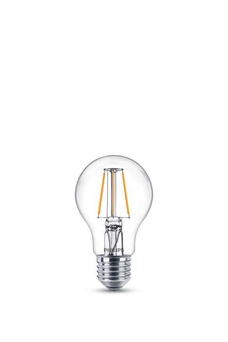 Ändra ljusinställning utan att byta lampor