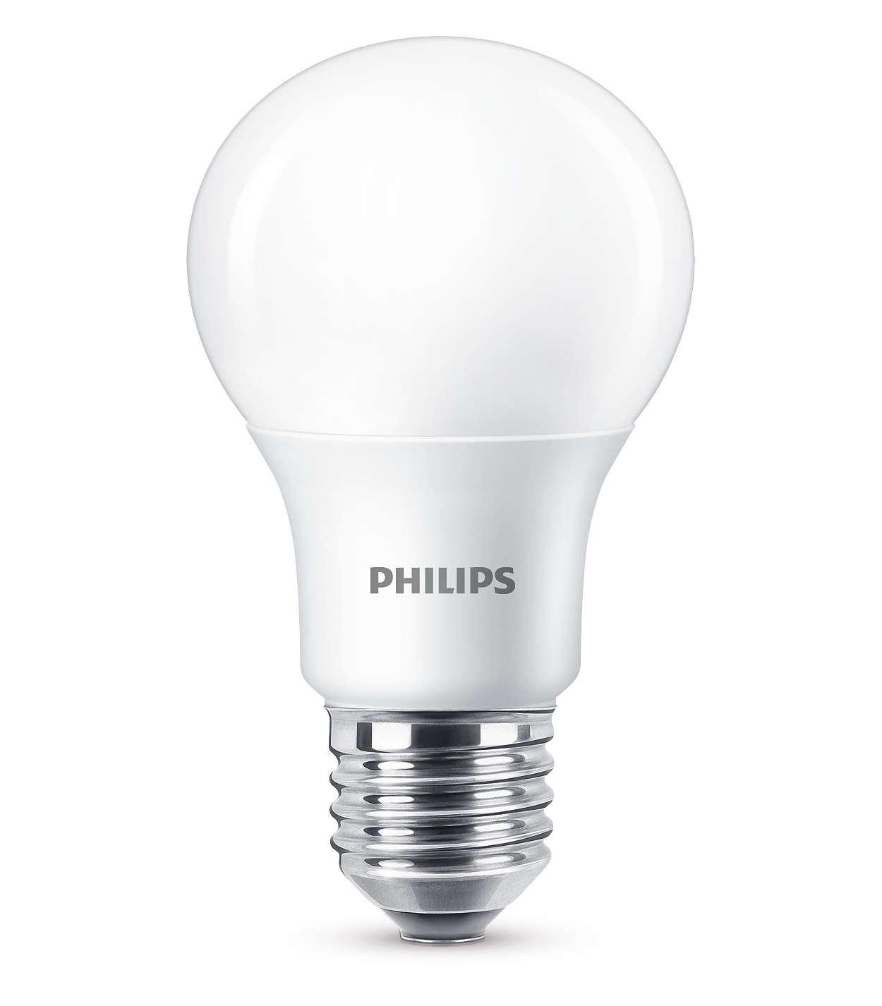 Une lumière LED blanche et chaude à intensité variable