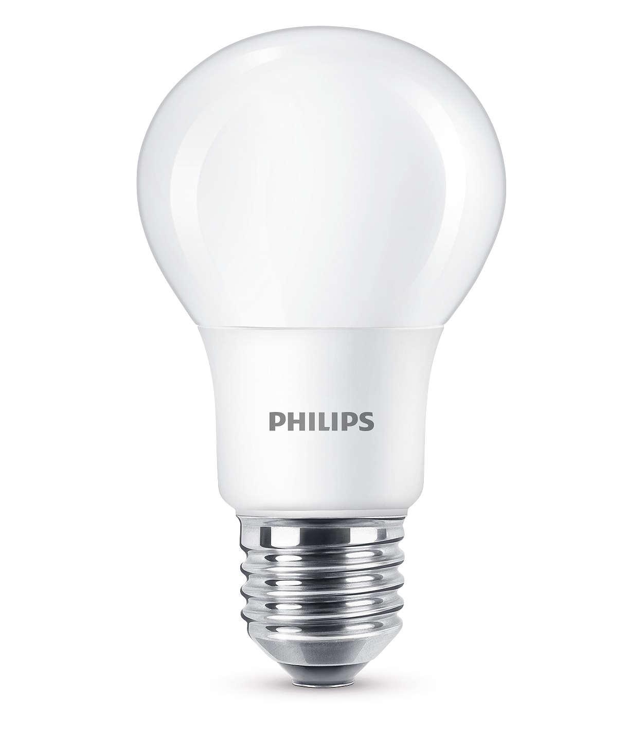 Disfruta de una luz LED blanca cálida y regulable