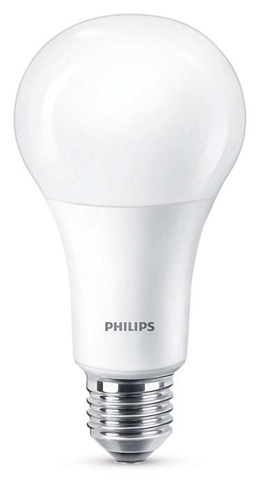 Насладитесь теплым белым светом светодиодной лампы с диммером
