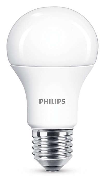 Išbandykite pritemdomą šiltai baltos spalvos LED šviesą