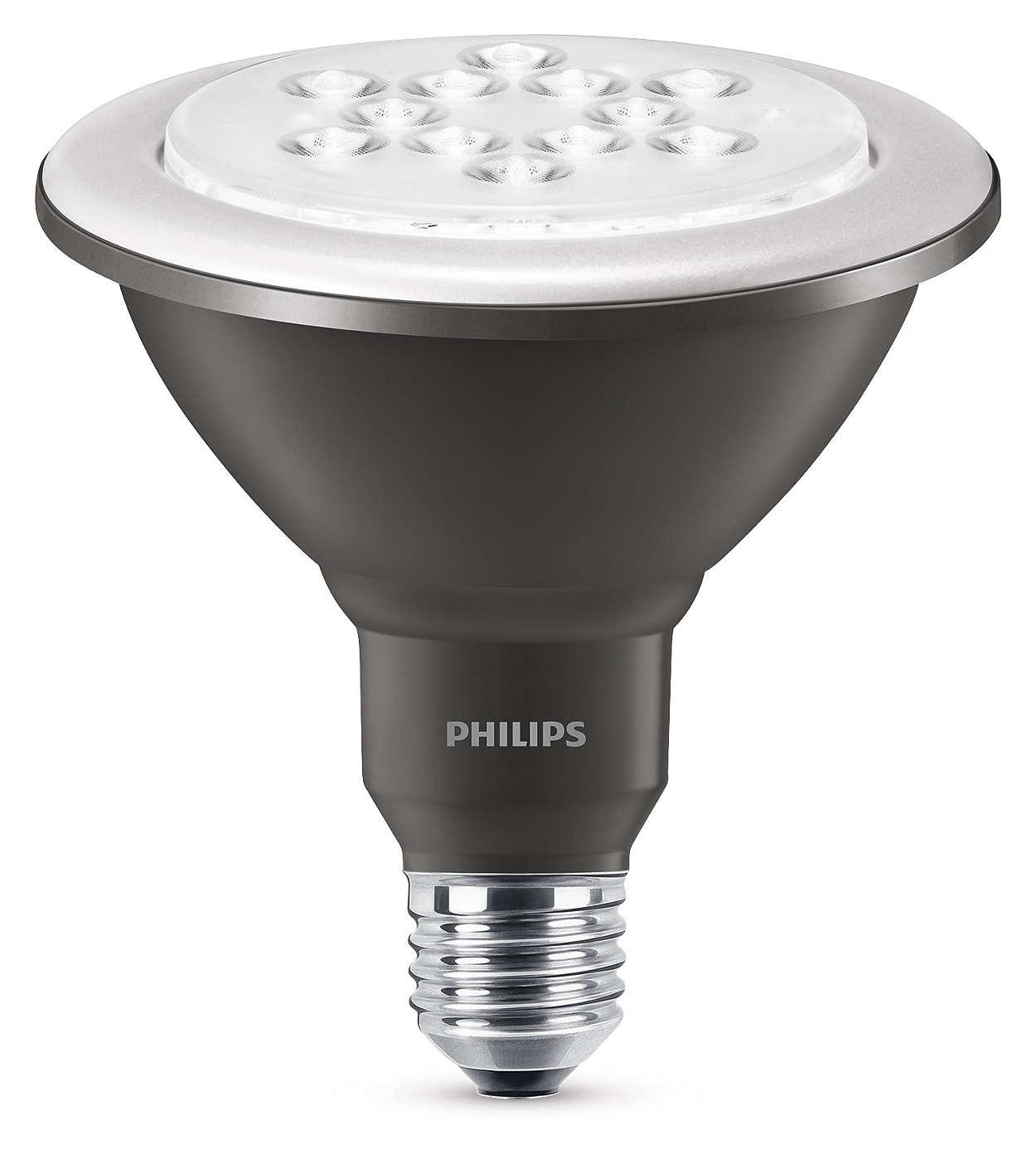 Kestävä LED-valaistus kirkkaalla kohdevalolla