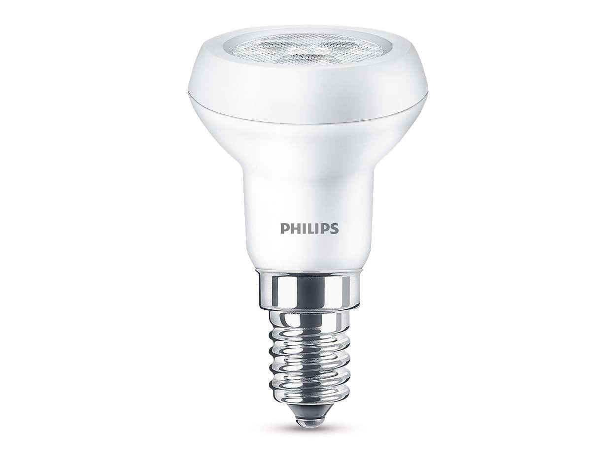 Trwałe źródło światła LED o jasnym, skupionym strumieniu