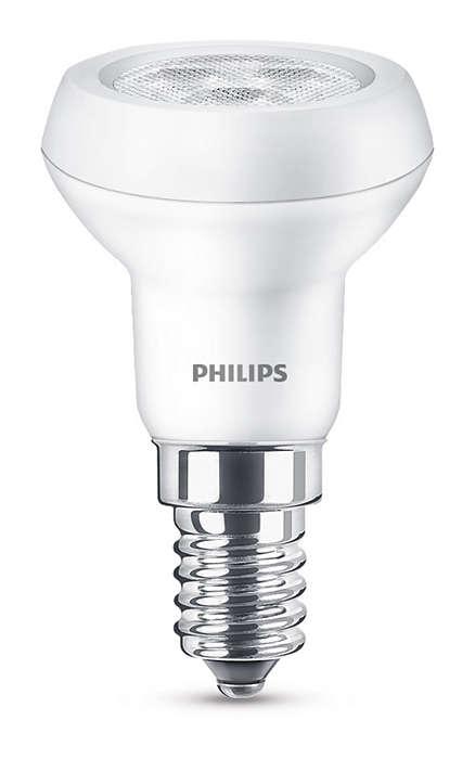 Надежная конструкция и направленный яркий луч светодиодного света