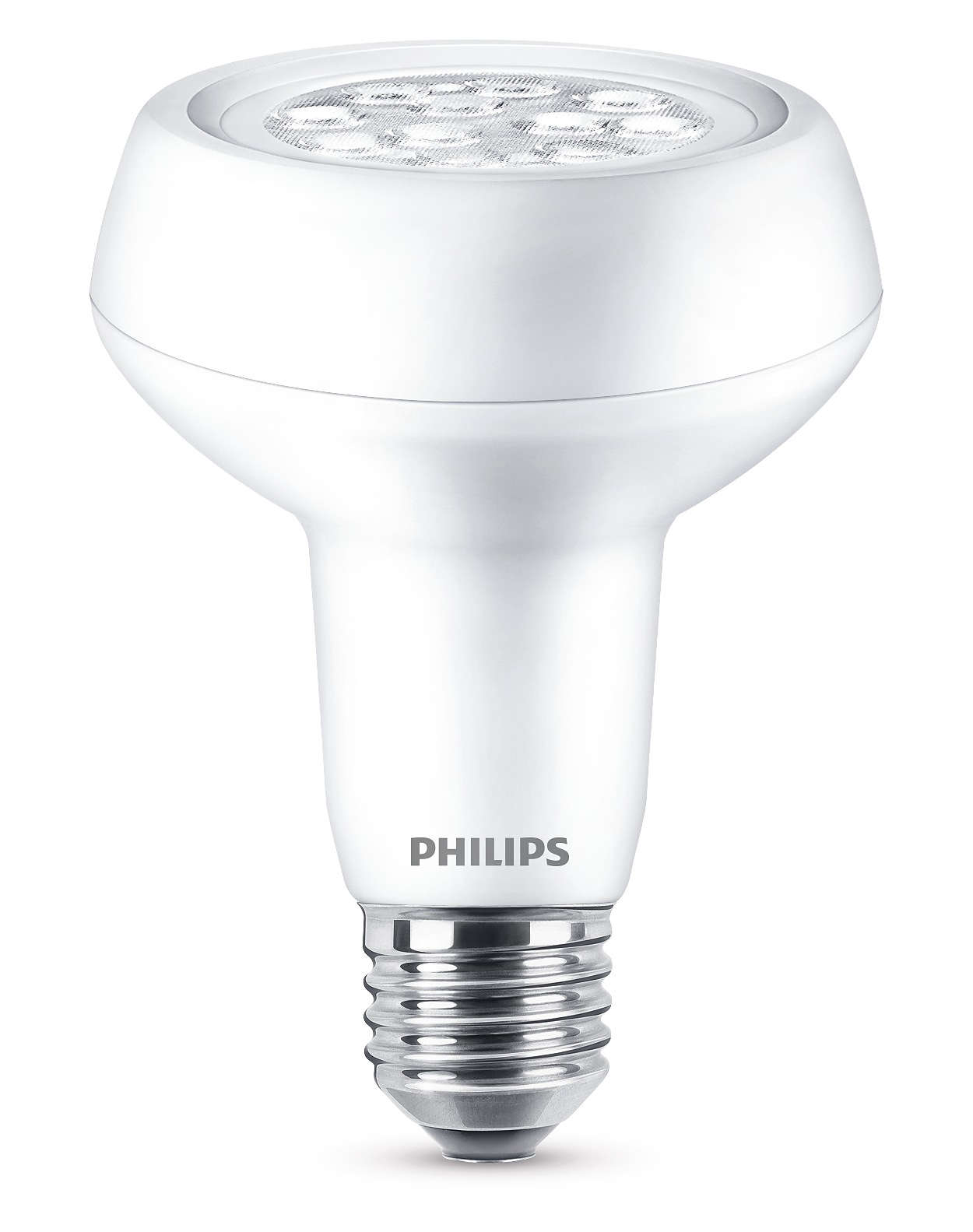 Holdbar LED-lyskilde med en fokuseret klar lysstråle