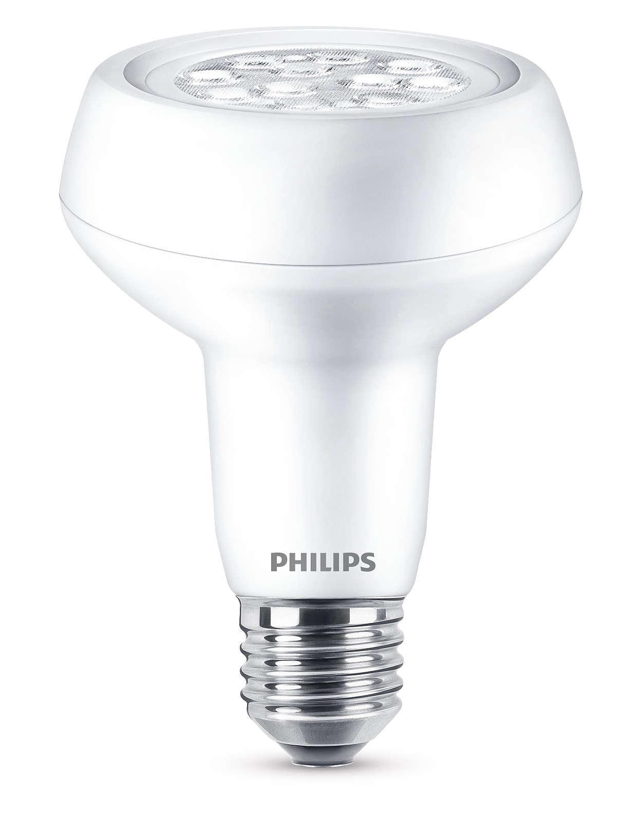 Odaklanmış parlak ışık demetiyle dayanıklı LED lamba