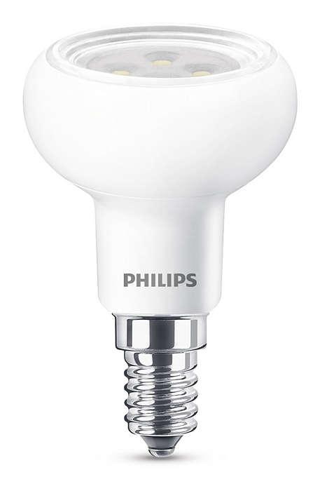 Iluminación LED duradera con un haz brillante enfocado
