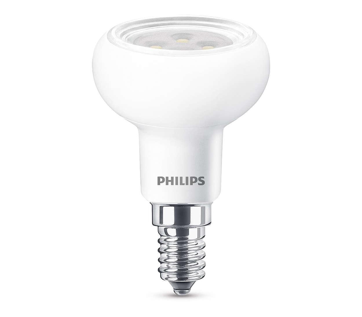 Éclairage LED durable, avec faisceau lumineux fin et puissant