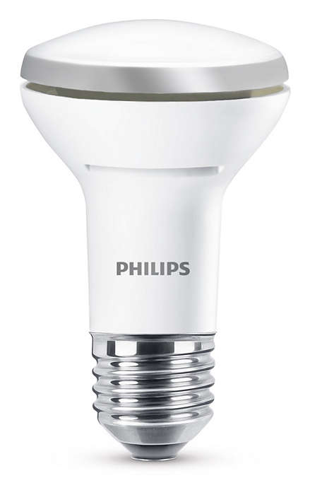 Varig LED-effektbelysning med en fokusert lysstråle
