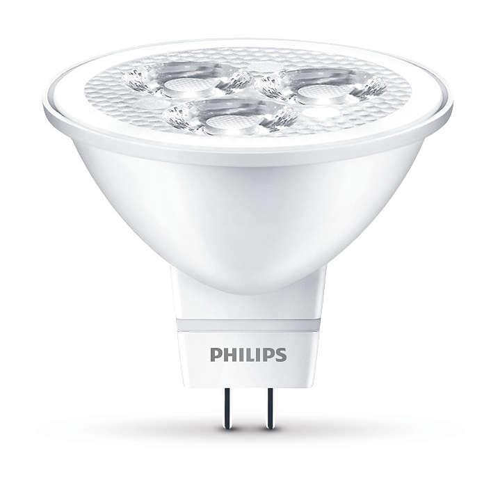 耐用的 LED 重點照明燈具,投射集中光束