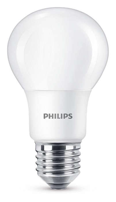 Šilta balta šviesa, nenusileidžianti savo kokybe