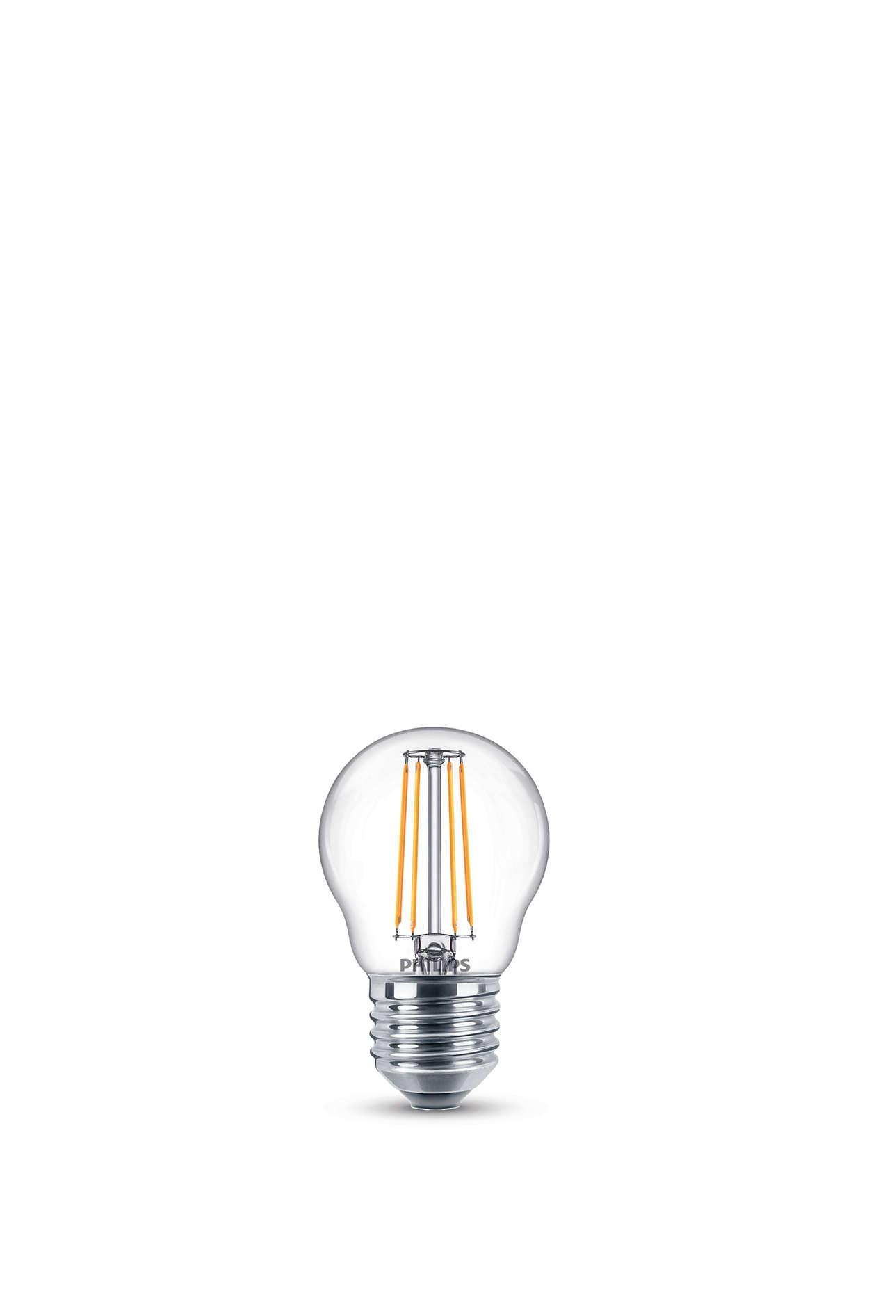 Endre lyssettingen uten å bytte lyskilder