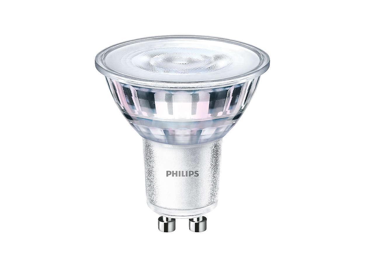 Iluminación de acento LED duradera con haz brillante