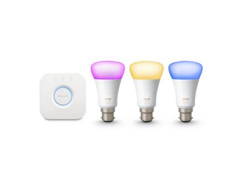 Hue Hub and Lamps