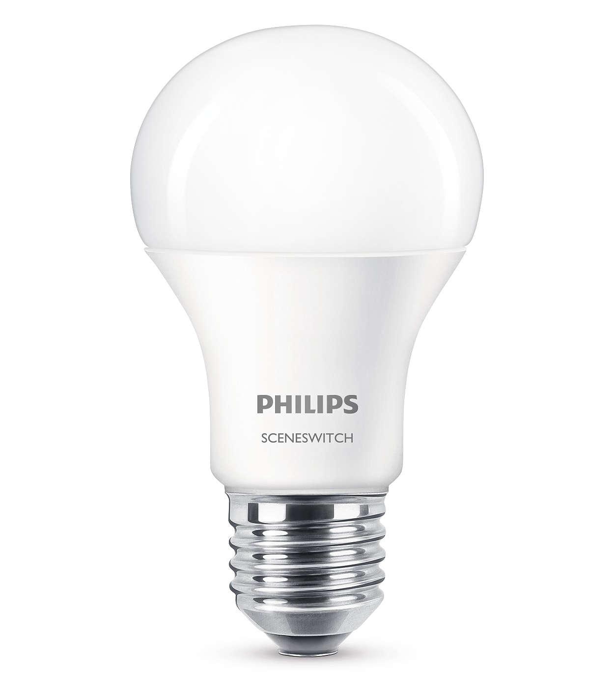 Сменяйте настройките за осветлението, без да сменяте крушките