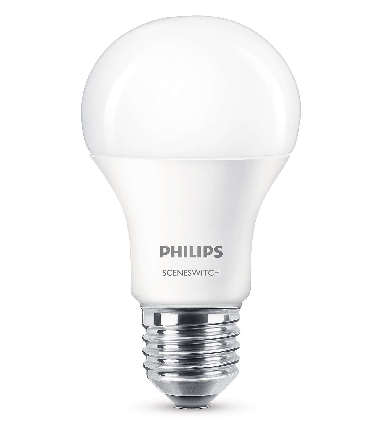 Eine Lampe. Ihr Schalter. Zwei Lichteinstellungen.