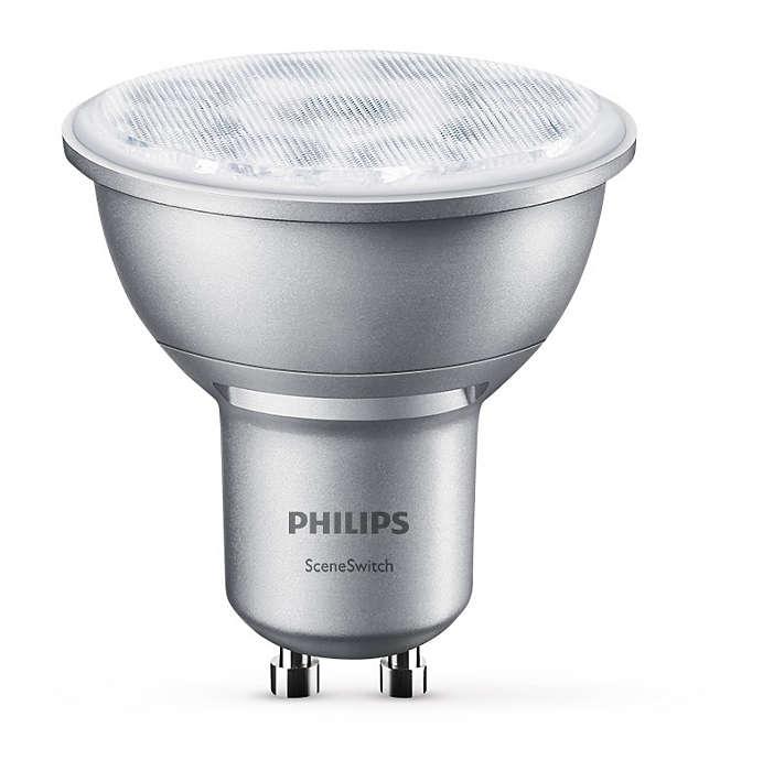 Одна лампа акцентного освещения — три режима освещения