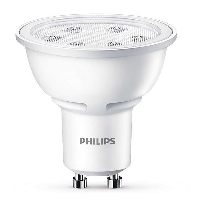 Iluminación de acento LED duradera