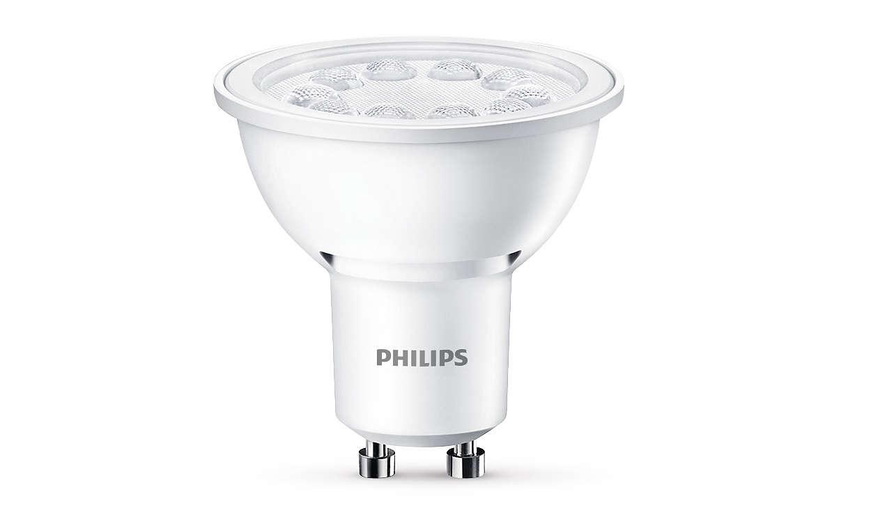 Duurzame LED-accentverlichting met een gerichte, heldere bundel
