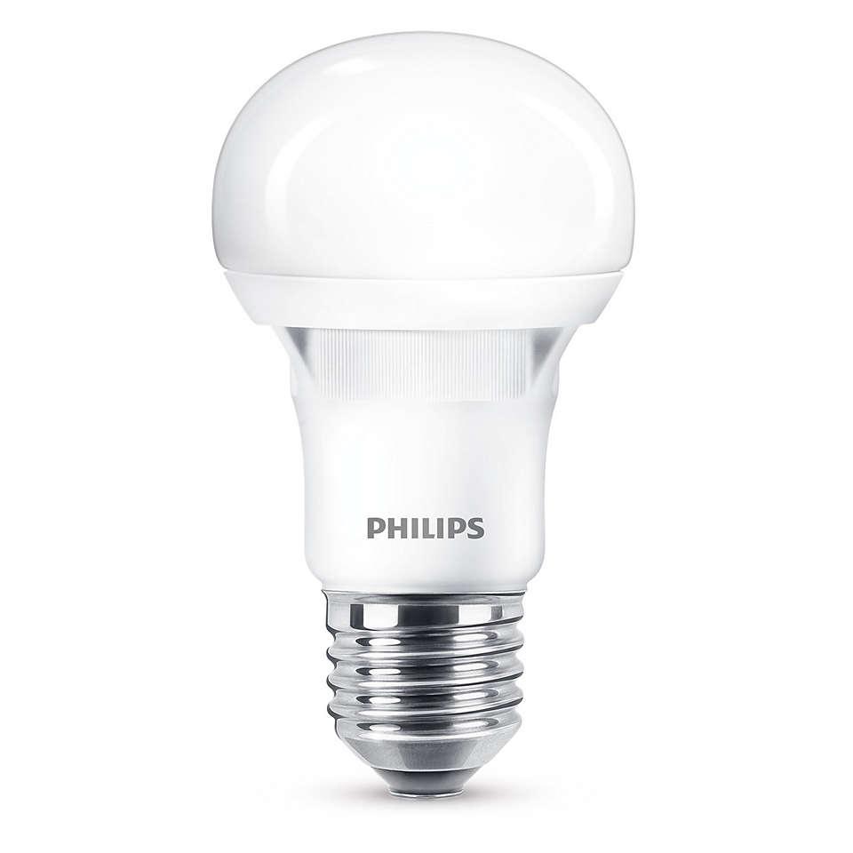 Лампа 5Вт (40Вт), E27, белый