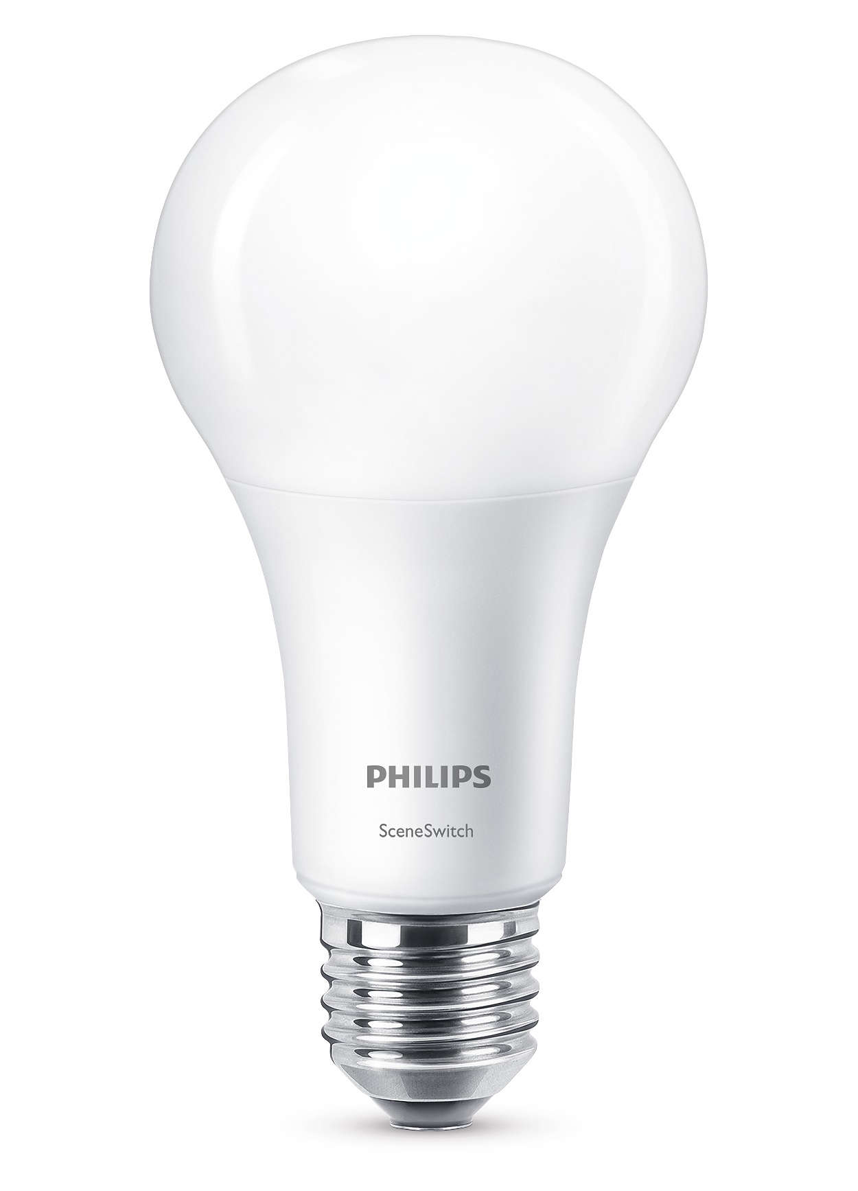 En lampa, tre ljusinställningar