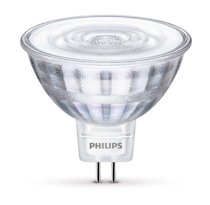 Hållbar LED-accentbelysning med riktat ljusstråle