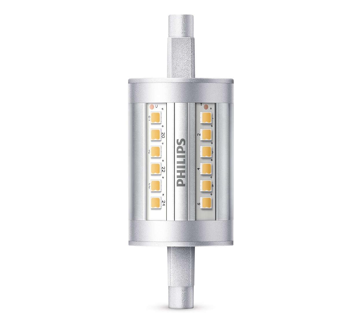 Duurzame LED-lamp met een lichtstraal van 300 graden