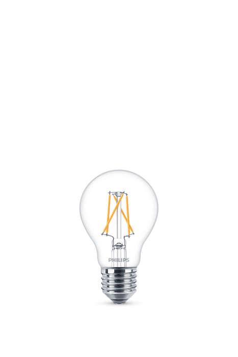 Одна лампа. Ваш переключатель. Три режима освещения.