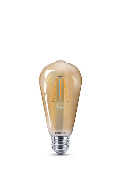 Os benefícios de LED com um visual retrô familiar