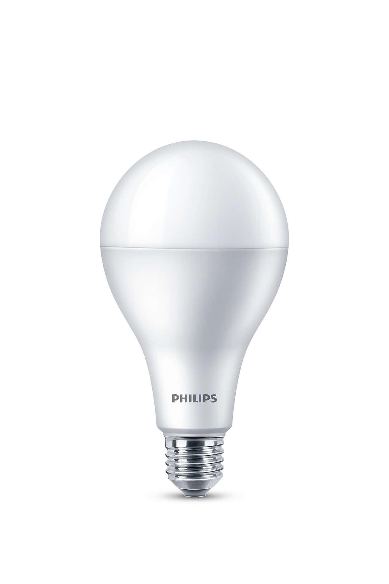 Klart LED-ljus med utmärkt ljuskvalitet
