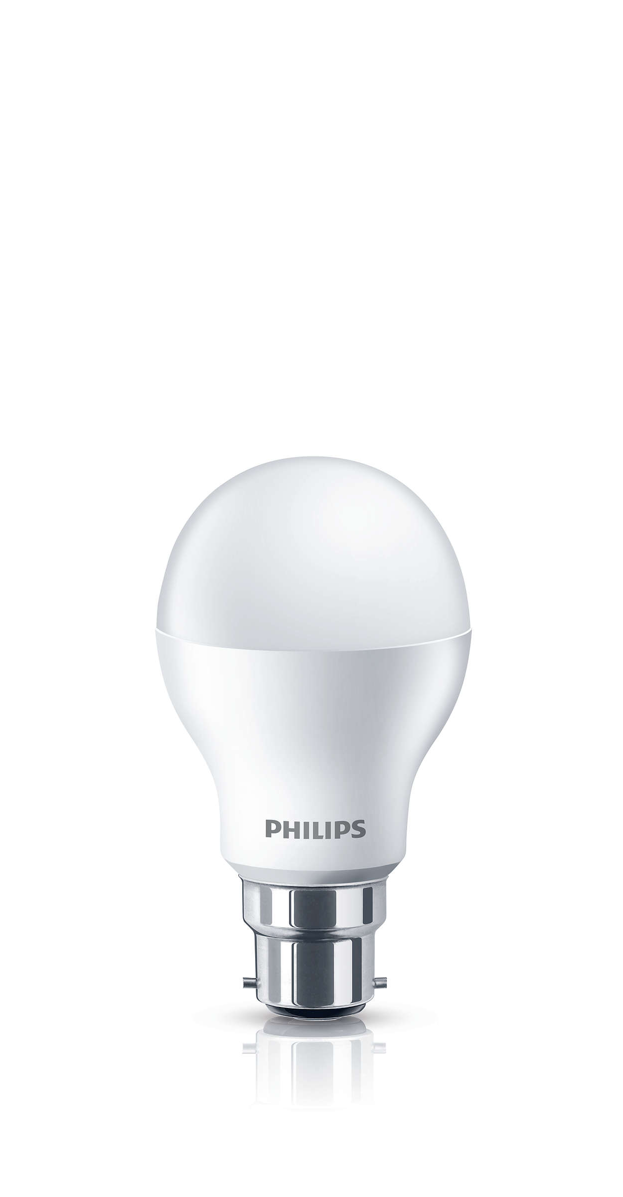 Warm white light, no compromise on light quality