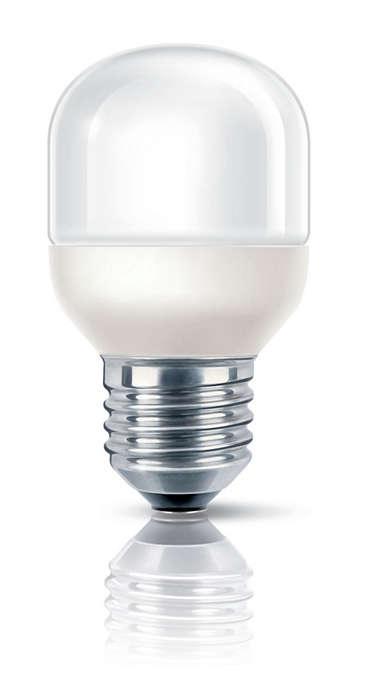 Luz suave e delicada num formato decorativo