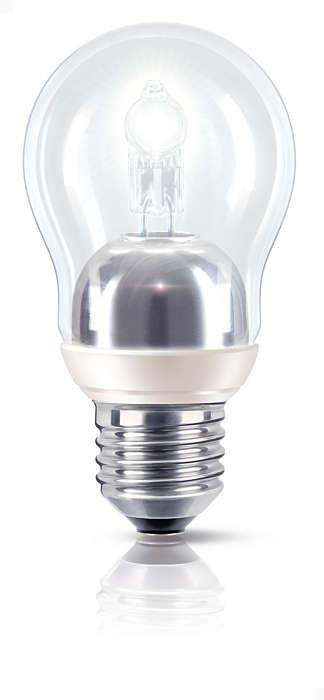 Fuldt funklende, halvt energiforbrug